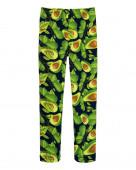 10251 Лосины для девочки, авокадо р.104-56