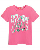 51147 Футболка для девочки р.92-52 розовый