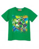 52223 Футболка для мальчика р.134-68 зеленый