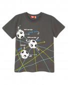 52216 Футболка для мальчика р. 92-52 серый