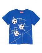 52216 Футболка для мальчика р. 92-52 синий