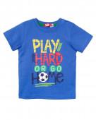 52210 Футболка для мальчика р.74-48 синий