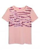 5371 Футболка женская р.42 нежный розовый