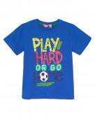 52217 Футболка для мальчика р. 92-52 синий
